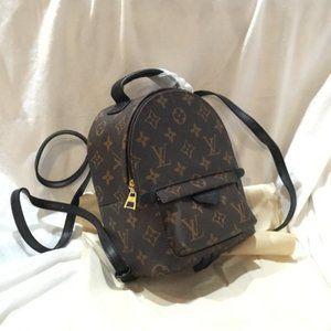 ❈LOUIS VUITTON Mini Backpack Palm Springs Bag M415